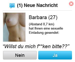 Barbara ficken?